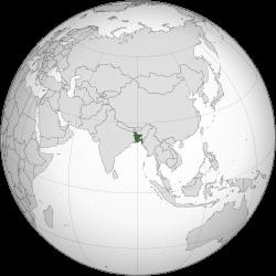 バングラ地図