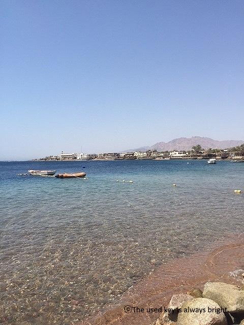 エジプトダハブの海