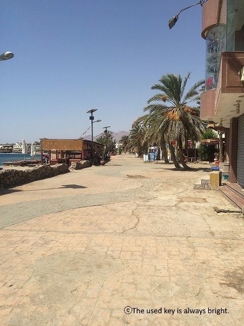 エジプトダハブの町