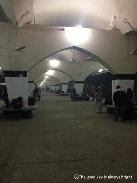ダッカの鉄道駅