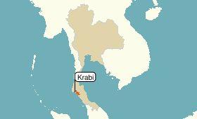 クラビ地図