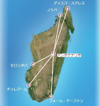 マダガスカル航空国内線