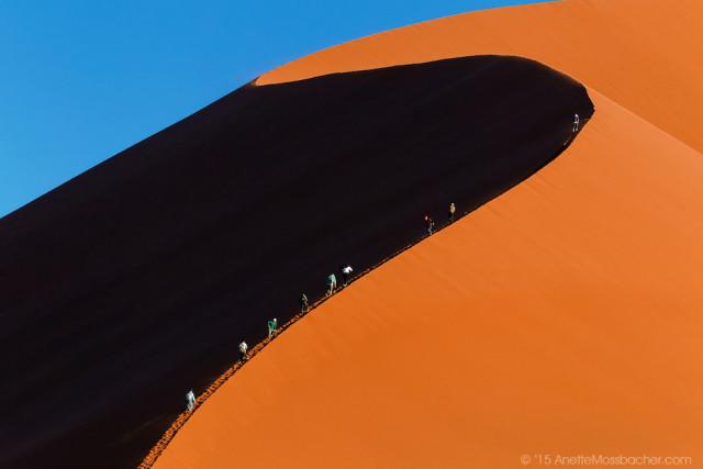 ナミブ砂漠DUNE45