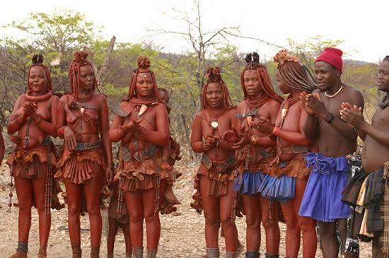 ナミビアのヒンバ族