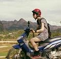 バイクに乗った自分