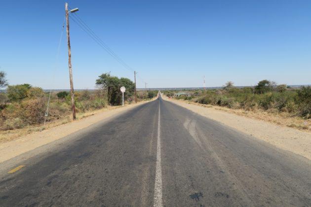 ナミビアからボツワナ