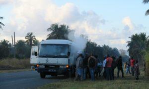 モザンビーク(2)マプトからトーフへの夜行バスで早速の洗礼ですよ