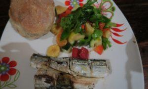 モザンビーク(4)ダイビング2日目&初めてのシェア飯はトーフの料理男子と