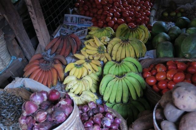 赤いバナナ