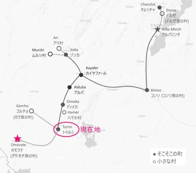 ダサネチ_地図