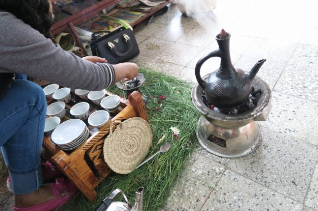 エチオピア‗コーヒーセレモニー