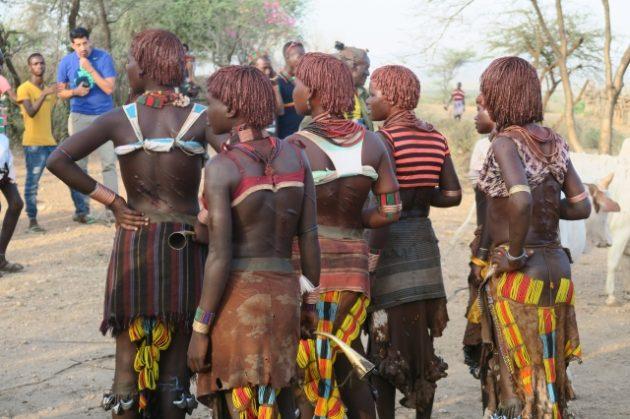ハマル族_エチオピア_ブルジャンプ