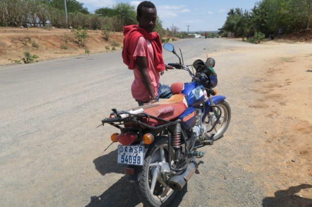 エチオピア_バイクタクシー