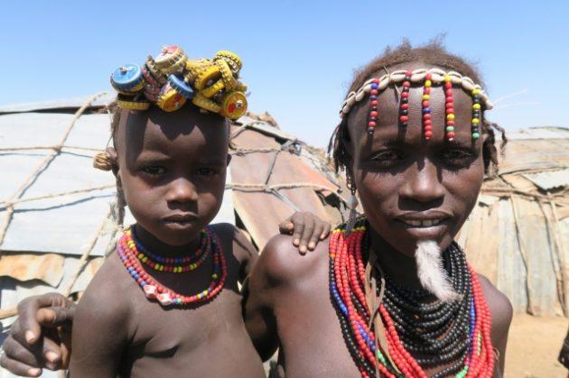 エチオピア_ダサネチ族