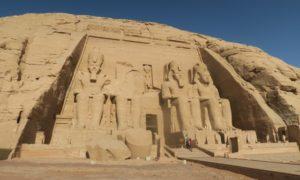 エジプト(3)アブ・シンベル大神殿で発見! アニメ&漫画の原点
