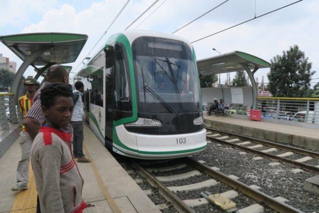 アジスアベバ‗電車