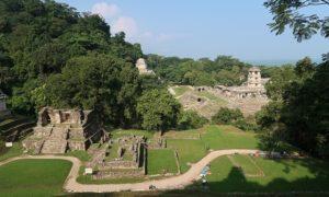 メキシコ(47)念願のパレンケ遺跡はジャングル散策も見どころのひとつ