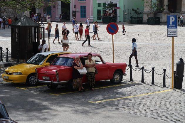 キューバ_クラシックカー