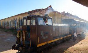 キューバ(13)トリニダーから観光列車で行くロス・インヘニオス渓谷