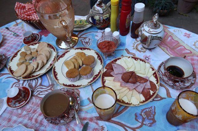 トリニダー_朝食
