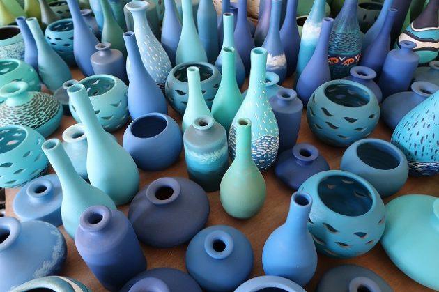 キューバ_陶器の店