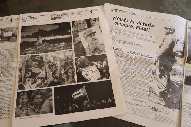 キューバ_新聞_カストロ