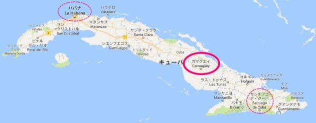 カマグエイ_地図