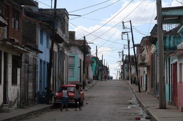 キューバ_町並み