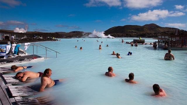 アイスランドブルーラグーン温泉