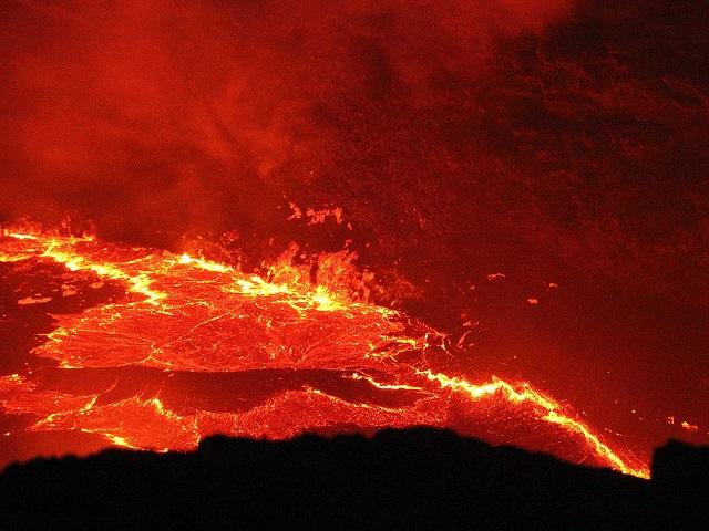 エルタ・アレ火山1