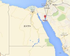 地図ダハブ