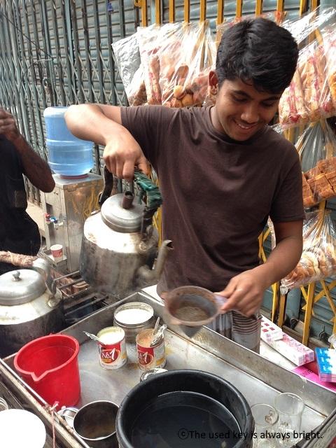 バングラディシュのチャイ