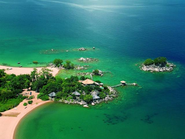 マラウィ湖ダイビング