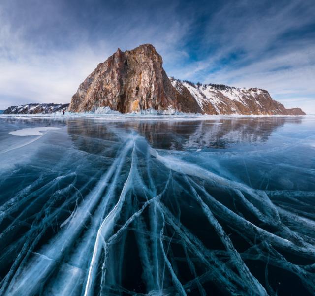 ロシアのバイカル湖