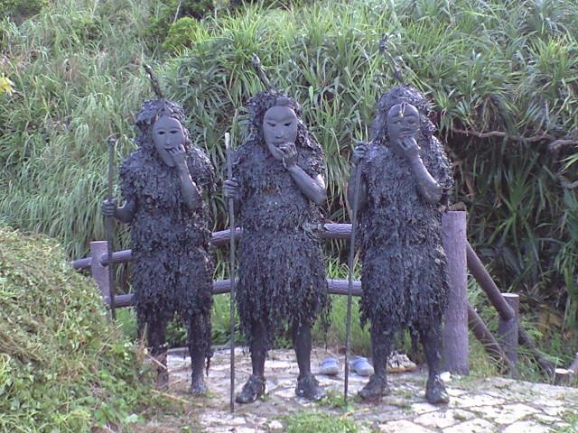 沖縄のパーントゥ