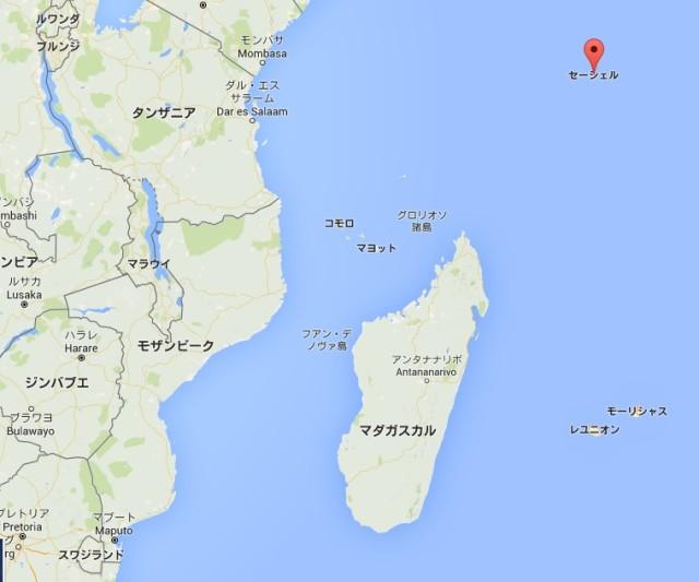 セーシェルとマダガスカル