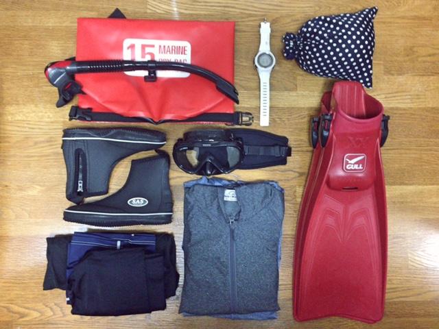 旅の準備|なにかと便利なダイビング用品は海以外でも使えるから困る