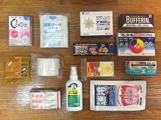 旅の準備|ヒーラー的役割を担うバックパッカーに必要な薬と健康管理
