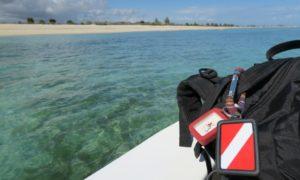 マダガスカル(14)ダイバーは海から登場するのが基本ですよね