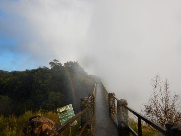 ビクトリアの滝_ザンビア