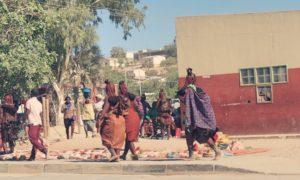 ナミビア(7)ヒンバ! デンバ! ヘレロ! オプウォの町で大興奮!!