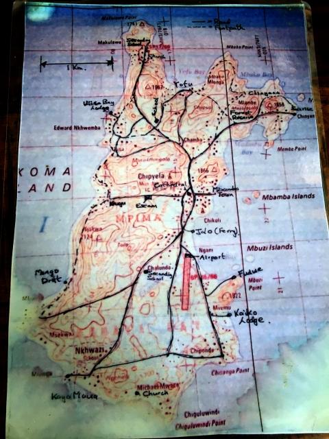 likoma island map