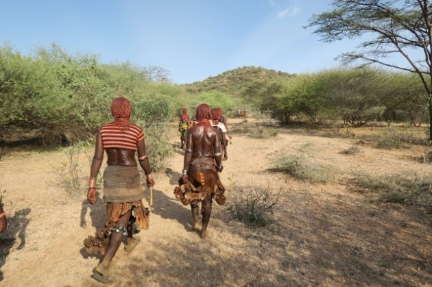 ハマル族_エチオピア_ウィッピング