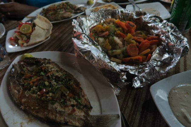ダハブ_魚料理