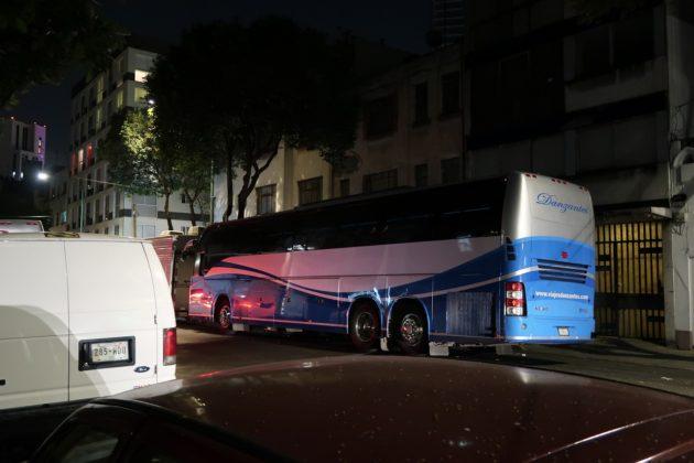 メキシコ_夜行バス