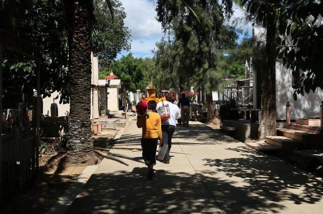 メキシコ_オアハカ_普段の墓地