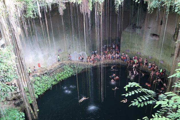 セノーテ・イキル(Cenote Ik-Kil)
