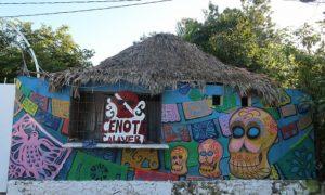 メキシコ(27)セノーテ・カラベラでのダイビングと新たなかわいい布情報