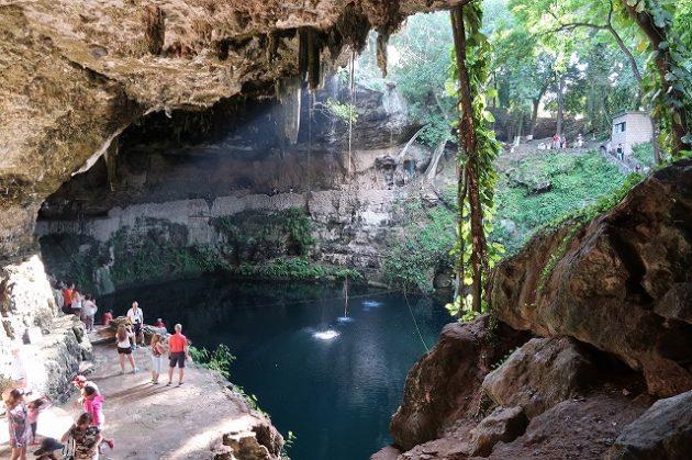Cenote Xaci(セノーテ・サシ)