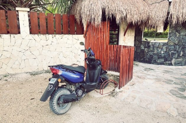 トゥルム_レンタルバイク